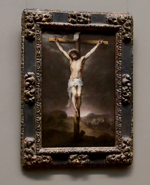 Picture of Jesus on the cross - overcoming life's obstacles