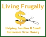 Click on this banner to view my newest website on living frugally.